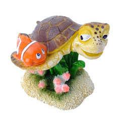 Décoration d'aquarium clown fish 1 : L8,5xl8xH7 cm