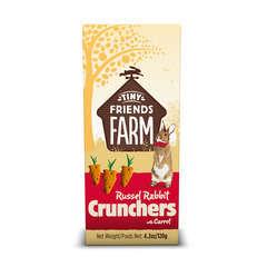 Biscuit Russel Crunchers pour lapin : Carotte 120gr