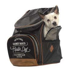 Sac à dos transport Pack pour chien,chat: noir Taille M L33xl26xH44 cm
