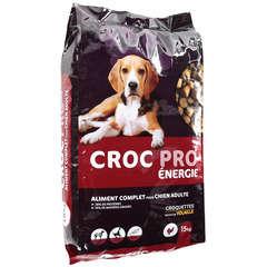 Croquettes chien Croc pro Energie : 15 kg