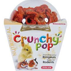 Pop corn et fruits secs Crunchy Pop pour rongeur : Carotte 43g