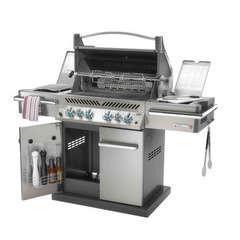Barbecue gaz Prestige PRO 500 RSIB inox +  brûleurs infrarouges