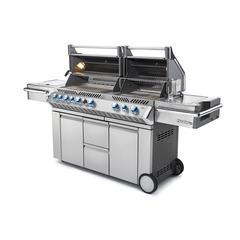 Barbecue gaz Prestige PRO 825 RSBI inox + brûleurs infrarouges