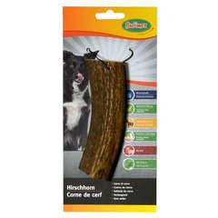 Friandise corne de cerf taille L pour chien : 120 à 160g