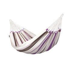 Hamac simple violet en coton (L 300 cm x l 140 cm)