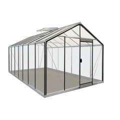 Serre de jardin R307H HT, en verre - 15,88m²