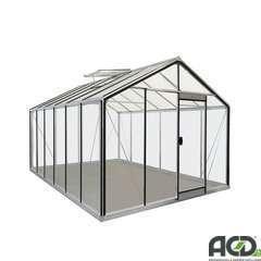 Serre de jardin R306H Rétro, en verre - 13,62m²