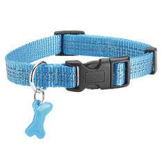 Collier Safe pour chien de couleur bleu et de taille 25