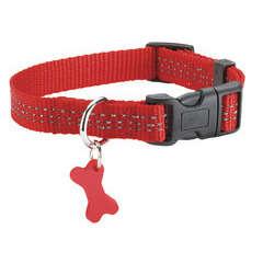 Collier Safe pour chien de couleur rouge et de taille 10