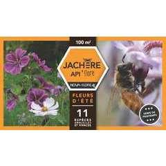 Jachère mellifère fleurs d'été : boite