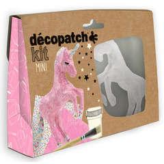Mini kit créatif pour décorer une chambre d'enfant - Licorne