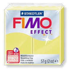 Pâte Fimo Effect, 57g - Jaune citrine