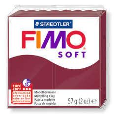 Pâte Fimo Soft, 57 g - Rouge merlot