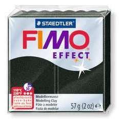 Pâte Fimo Effect, 57g - Noir perle