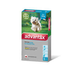 Pipette antiparasitaire petit chien advantix x6