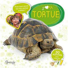 Livre animalerie : J'aime ma tortue