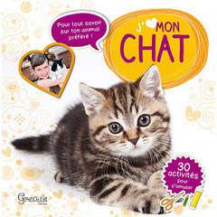 Livre animalerie : J'aime mon chat