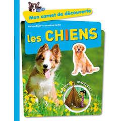 Livre animalerie : Mon carnet de découvertes les chiens