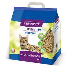 Litière végétale pour chat Paradisio - 10 litres