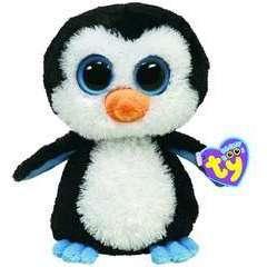 Peluche  Waddles Le Pingouin  H 15cm