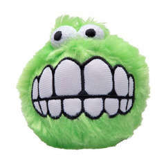 Peluche Fluffy Grinz pour chien : taille S Lime