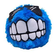 Peluche Fluffy Grinz pour chien : taille M Bleu