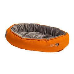 Coussin Snug Podz pour chat : taille M Orange