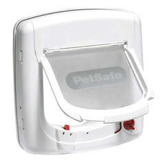 Porte chatiere Staywell® infrarouge Deluxe 4 positions : Blanc