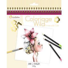 Carnet de coloriage Collector - Emmanuelle Colin