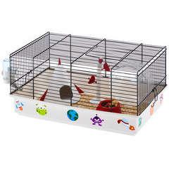 Cage Criceti 9 space pour hamster : L46cxl29,5xH23 m