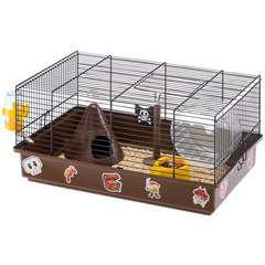 Cage Criceti 9 pirates pour hamste. Longueur 46cm