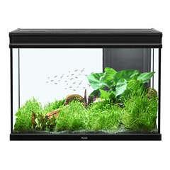 Aquarium Elégance Expert poisson d'eau douce, noir - 180 litres
