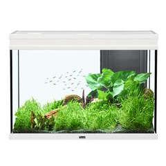 Aquarium Elégance Expert poisson d'eau douce, blanc - 180 litres