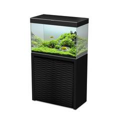 Aquarium avec meuble Emotions Nature One 80 en bois noir - 152 litres