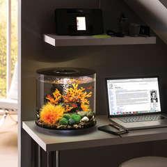 Aquarium Biorb Tube, noir - 15 litres