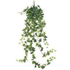 Lierre artificiel à suspendre, vert panaché L.129cm