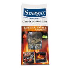 Carrés allume-feu 100% naturels (x72)