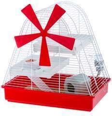 Cage Magic Mill pour hamster et souris : longueur 46 cm