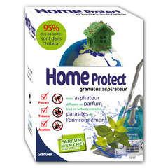 Granulés antiparasitaires pour aspirateur Home Protect : 4 sachets