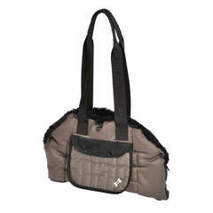 Sac Tentation  pour chien :  taupe Taille S