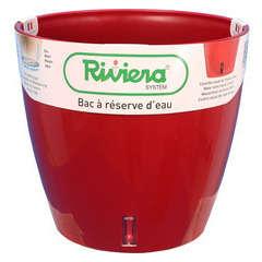 Pot Eva New en polypropylène, rouge Ø 30 cm