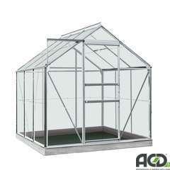 Serre Own Grow Daisy (vitre polycarbonate), anthracite (LDD) - 3,8m²