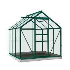 Serre Own Grow Daisy (vitre polycarbonate), vert (LDD) - 3,8m²