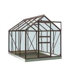Serre Own Grow Ivy (vitre polycarbonate), anthracite (LDD) - 5,0m²