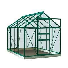 Serre Own Grow Ivy (vitre polycarbonate), vert (LDD) - 5,0m²
