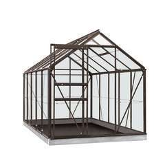 Serre Own Grow Lily (vitre polycarbonate), anthracite (LDD) - 6,2m²