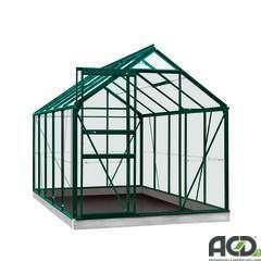 Serre Own Grow Lily (vitre polycarbonate), vert (LDD) - 6,2m²