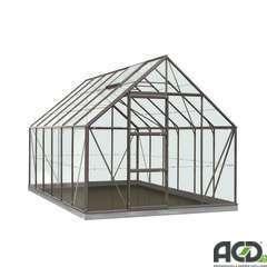 Serre Own Grow Oliver (vitre polycarbonate), anthracite (LDD) - 9,9m²