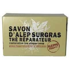 Savon d'Alep Surgras: Thé réparateur, 150g