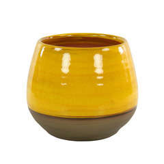Pot Cancale, coloris Ibiza Sunshine Ø 14 x H. 14 cm